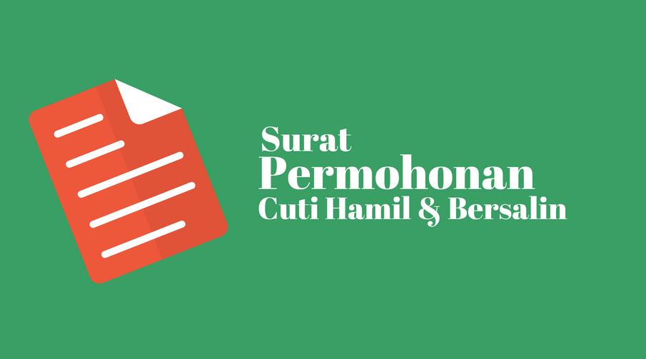 Contoh Surat Permohonan Cuti Hamil dan Bersalin PNS