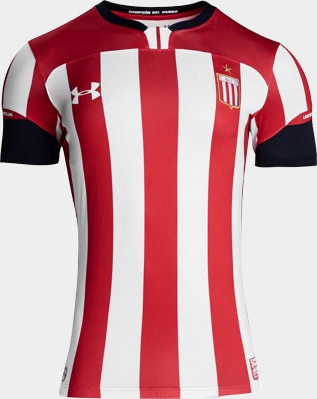 Under Armour lança a nova camisa titular do Estudiantes de La Plata ... 205cd1aac6ae3