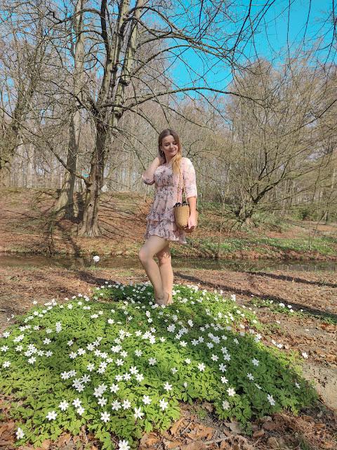 Kwiatowe love. Sukienka w kwiaty. ♥