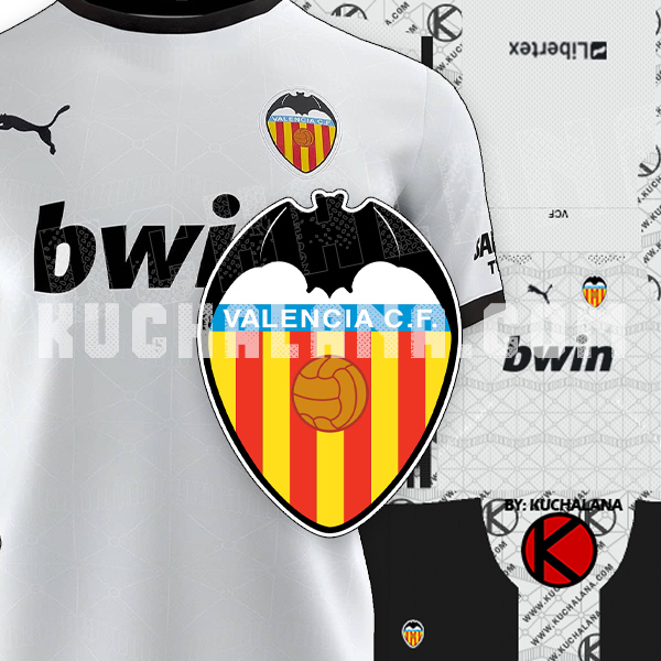Valencia CF 2020/21 Kits