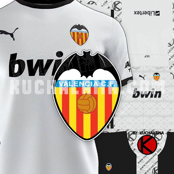 Valencia CF 2020/21 Kits - DLS2019