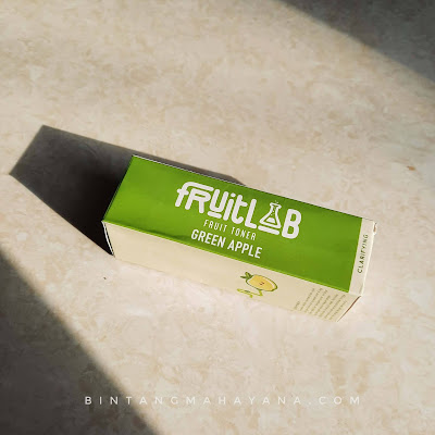 review-fruitlab-green apple-toner-bintangmahayana-com