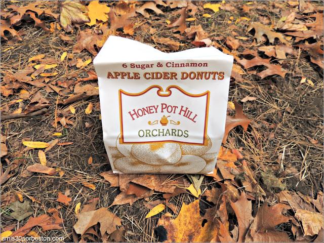 Bolsa de Apple Cider Donuts de una Granja de Nueva Inglaterra