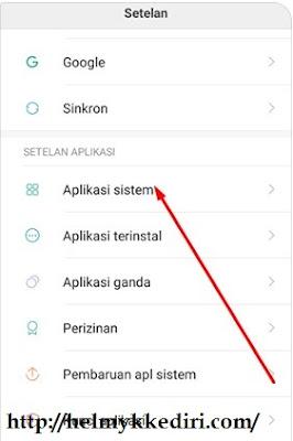 Cara menampilkan kontak SIM diXiaomi