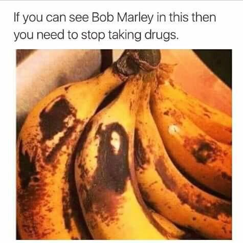 Puzzle: Can you see Bob Marley in this pic?