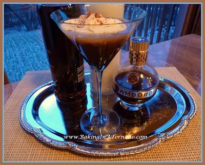 Chocolate Raspberry Pie-tini | recipe deeloped by www.BakingInATornado.com | #recipe #drink
