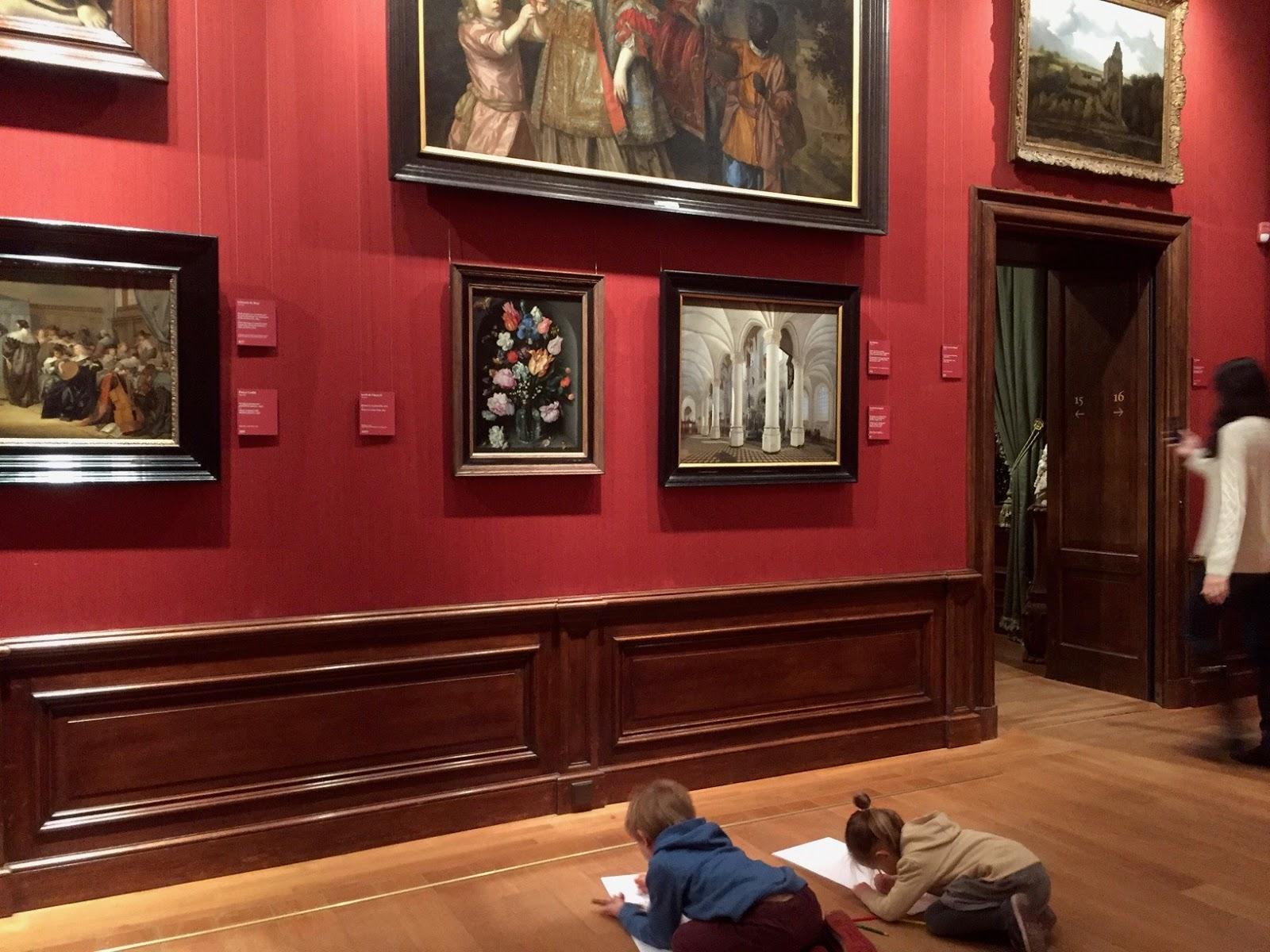 Mauritshuis z dzieckiem
