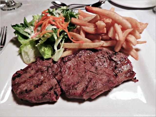 Filete de Ternera en el Restaurante D'Orsay en la Ciudad de Quebec