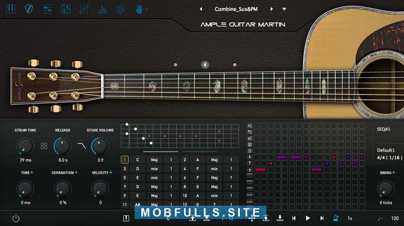Ample Sound - Ample Guitar M III v3.1 [MAC x64]