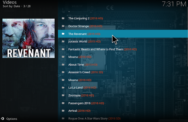 Open SafeHouse Kodi addon to watch Movies