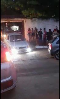Evento com aglomeração e som alto encerrado no Seixas pelas guarnições da ceatur e ambiental