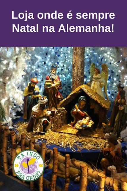 Loja onde é sempre Natal na Alemanha!