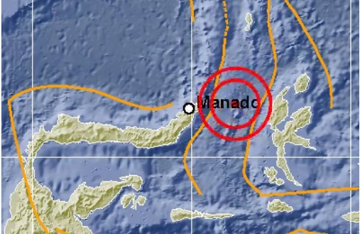 Sulut dan Malut Diguncang Gempa 7 Skala Richter Berpotensi Tsunami