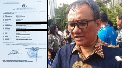 Diduga Lakukan Ancaman kepada Uki, Andi Arief Dilaporkan ke Polda Metro Jaya