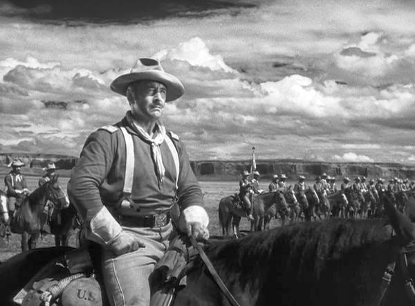 John Wayne in Fort Apache