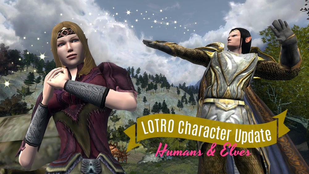 Ravalation Lotros First Character Update Humans Elves