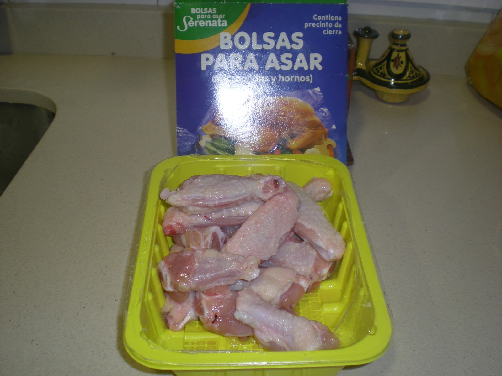 Desde Andalucía A Tu Cocina Alitas De Pollo Asadas En Bolsa