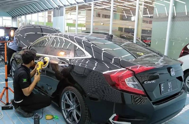 Harga Pemasangan Coating untuk Mobil
