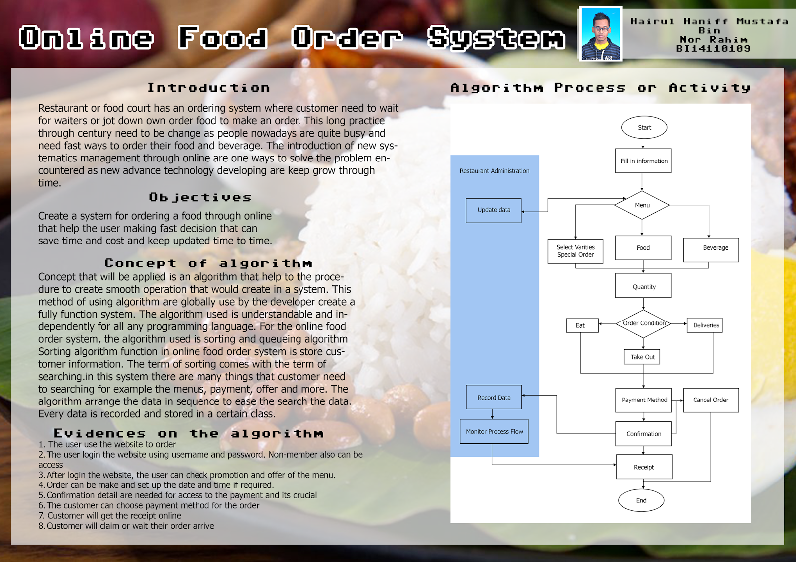 online food ordering system feasibility An online food ordering system computer projects 1 abstract the online food ordering system described in this document has feasibility at the.