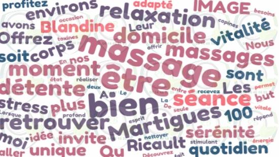 Massage à domicile autour de moi à Martigues;