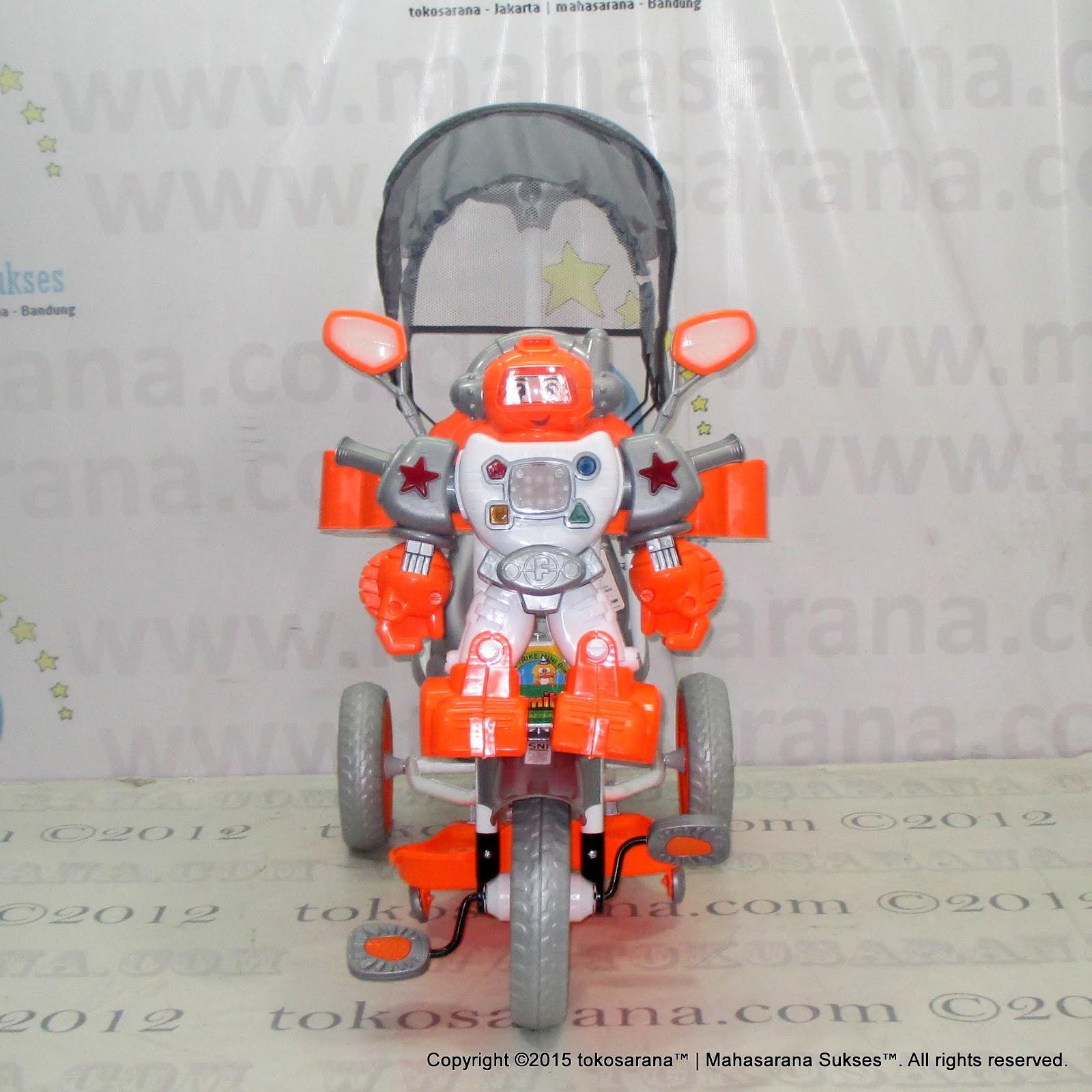 Sepeda Roda Tiga Family F845FT Robot Suspensi Bintang