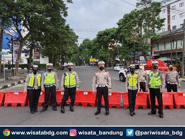 Wajib Tahu, Ini Sejumlah Ruas Jalan yang Disekat Selama Bandung Raya Siaga 1