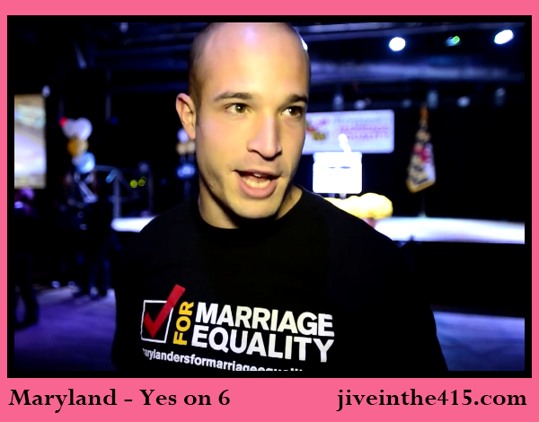 Maryland marriage equality supporter Steve Marker