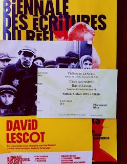 Ceux qui restent de David Lescot à la Biennale des Écritures du réel
