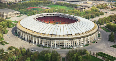 Stadion Luzhniki Rusia