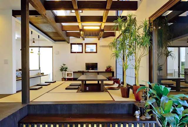 modern japan style living room