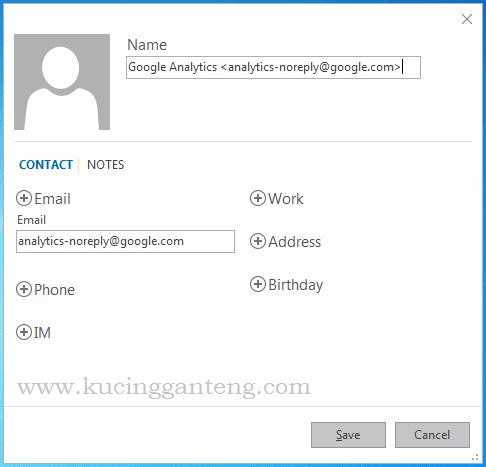 Cara Menambahkan Kontak Email Baru Di Microsoft Outlook 2016 Kucing Ganteng Blog Tutorial Komputer Terlengkap