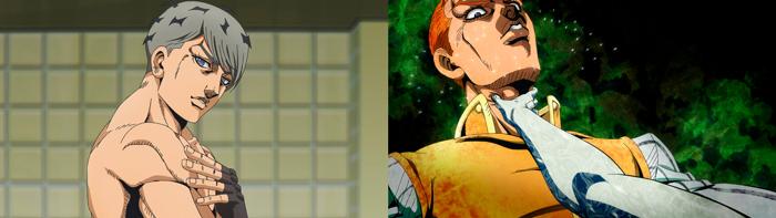 Thus Spoke Kishibe Rohan (Kishibe Rohan wa Ugokanai) OVA - personajes