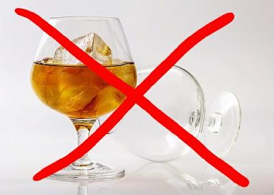 لا تشرب الكحول