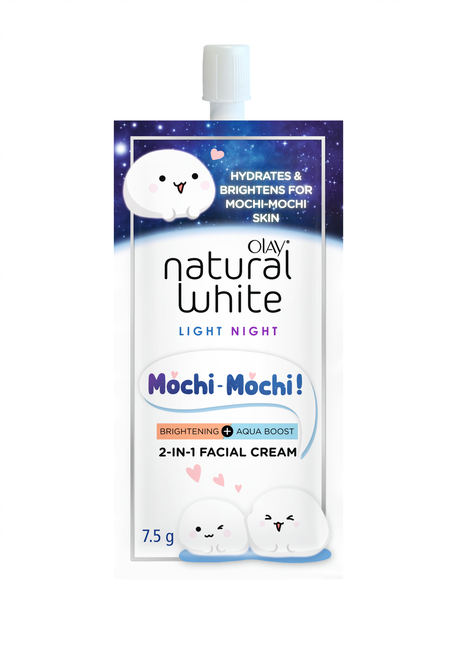 OLAY'S LATEST PRODUCT: NATURAL WHITE MOCHI-MOCHI & GLOW GIRL FACIAL CREAM