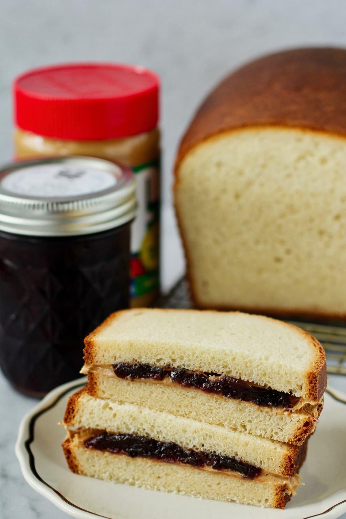 Homemade Wonder Bread (Copycat)