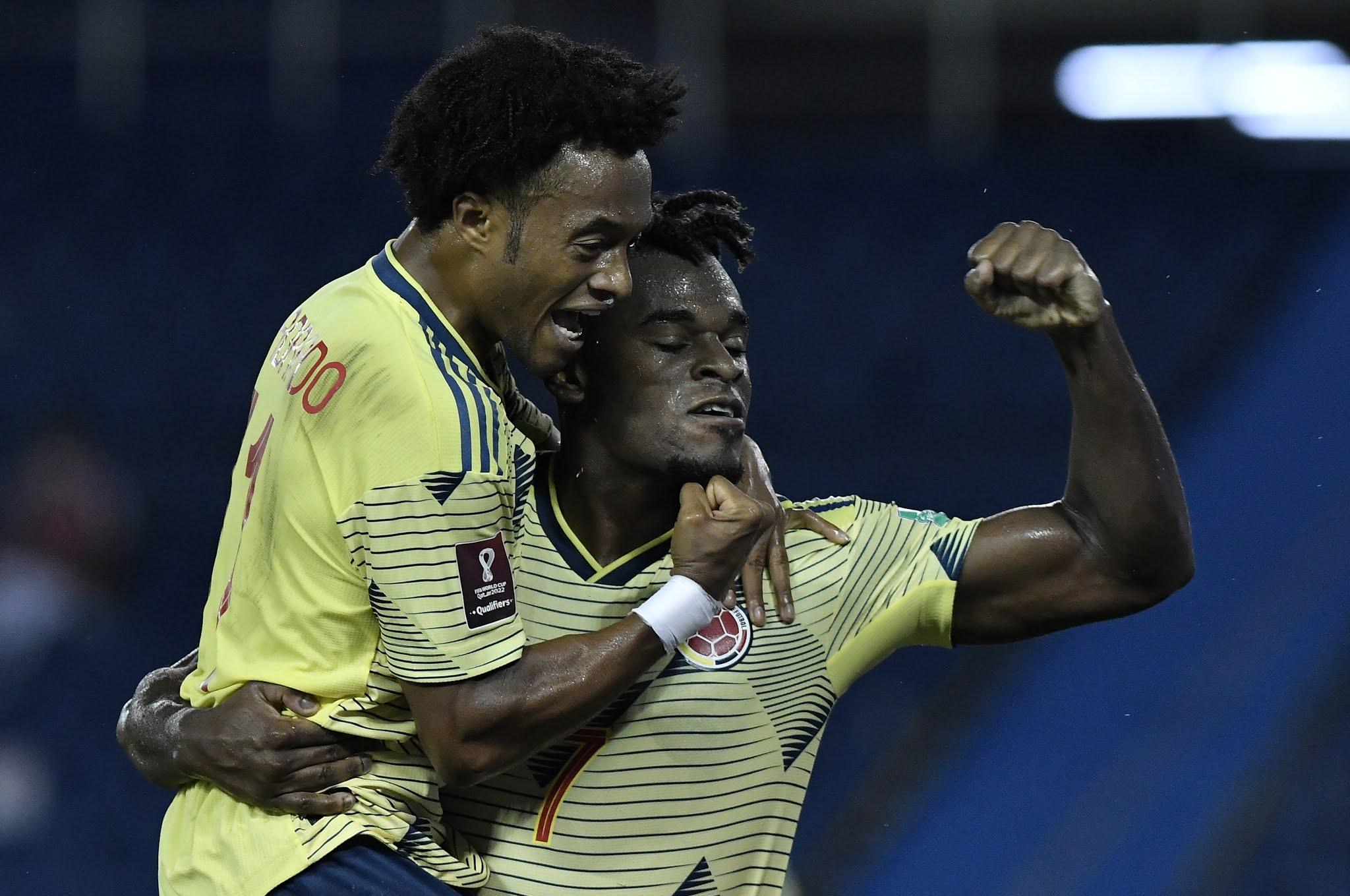 Colombia Venezuela Eliminatorias Sudamericanas