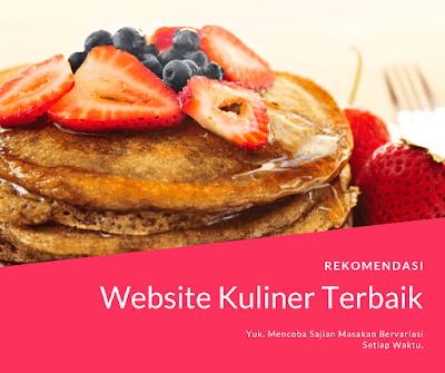 Website Kuliner Terbaik