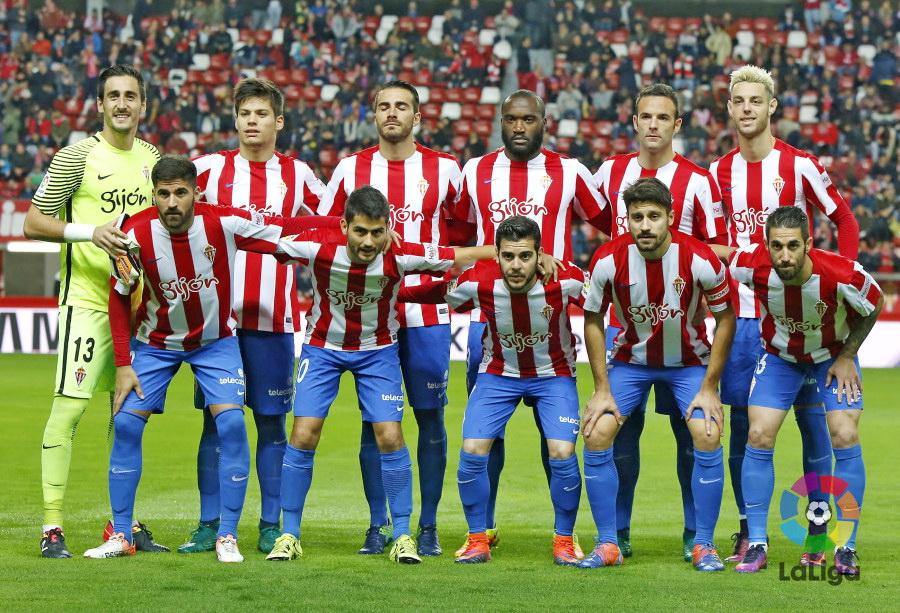 Equipos de f tbol sporting de gij n contra eibar 29 11 2016 - Estadio del sporting de gijon ...