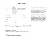A puzzle based on the Gospel of St.John