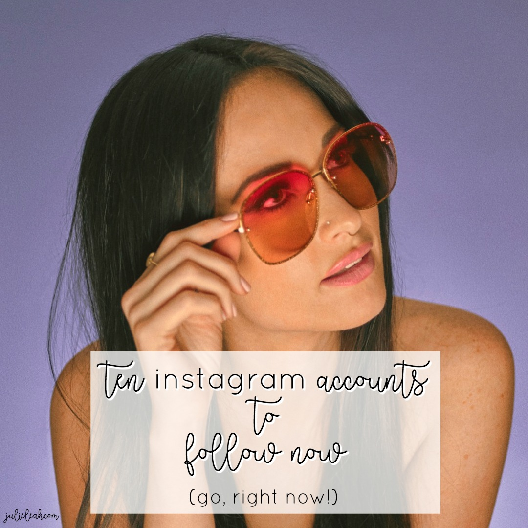 instagram accounts you should be following