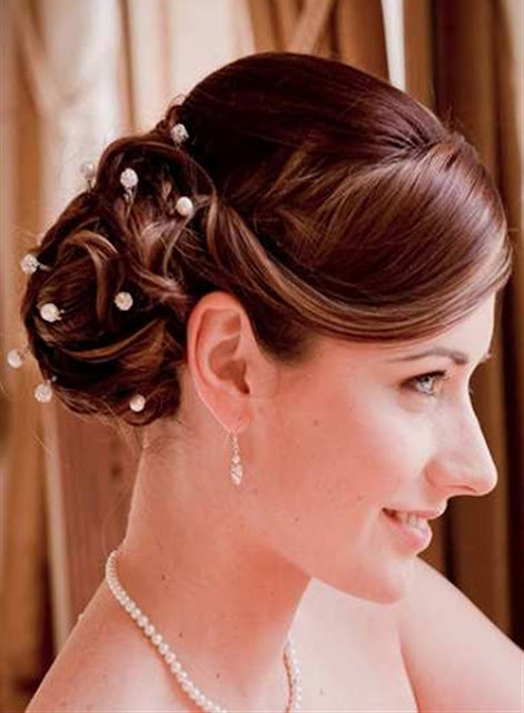 Long Layered Haircut Bridesmaid Hairstyles 2013 Elegant