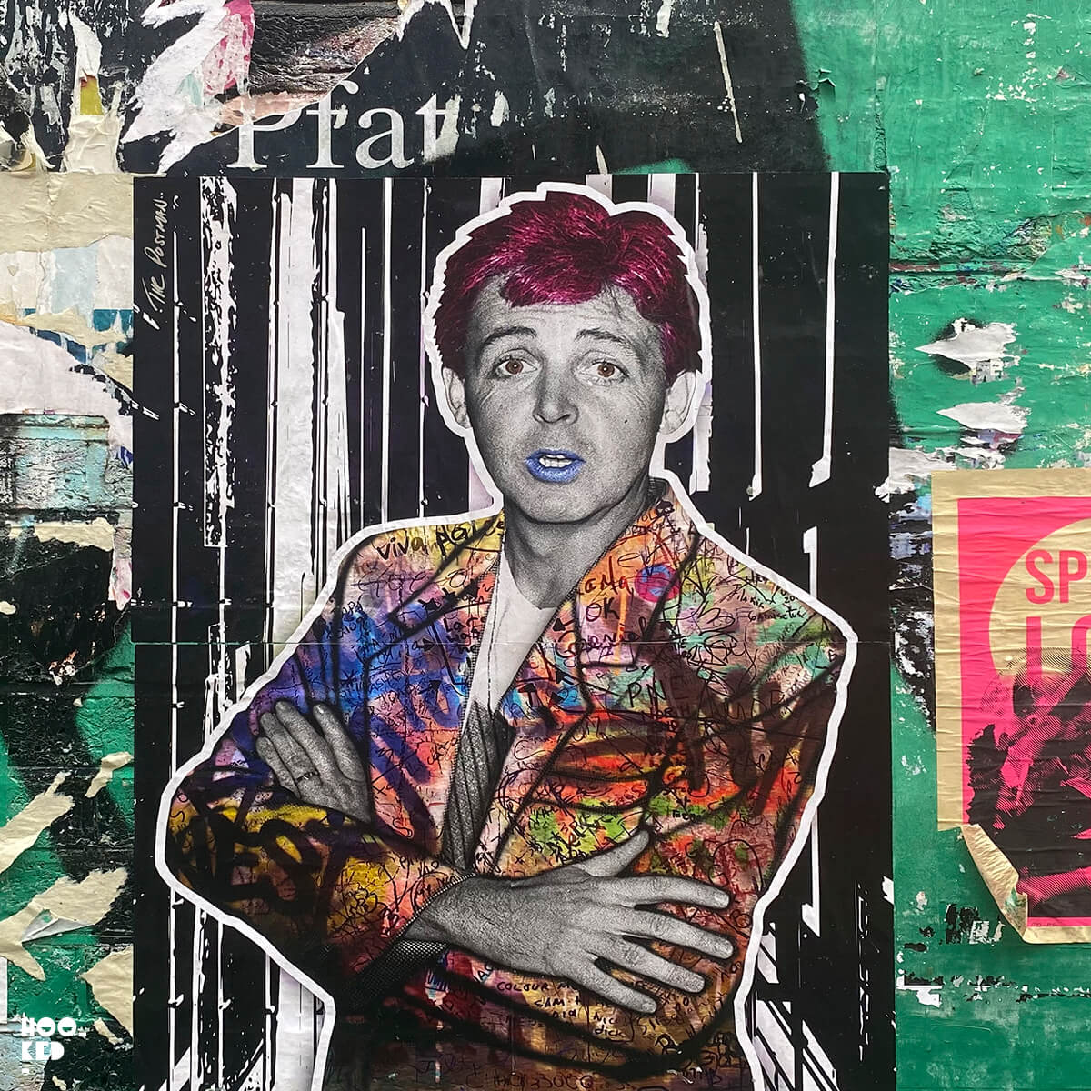 5 London Street Art Hotspots for Paste-ups - Postman Art