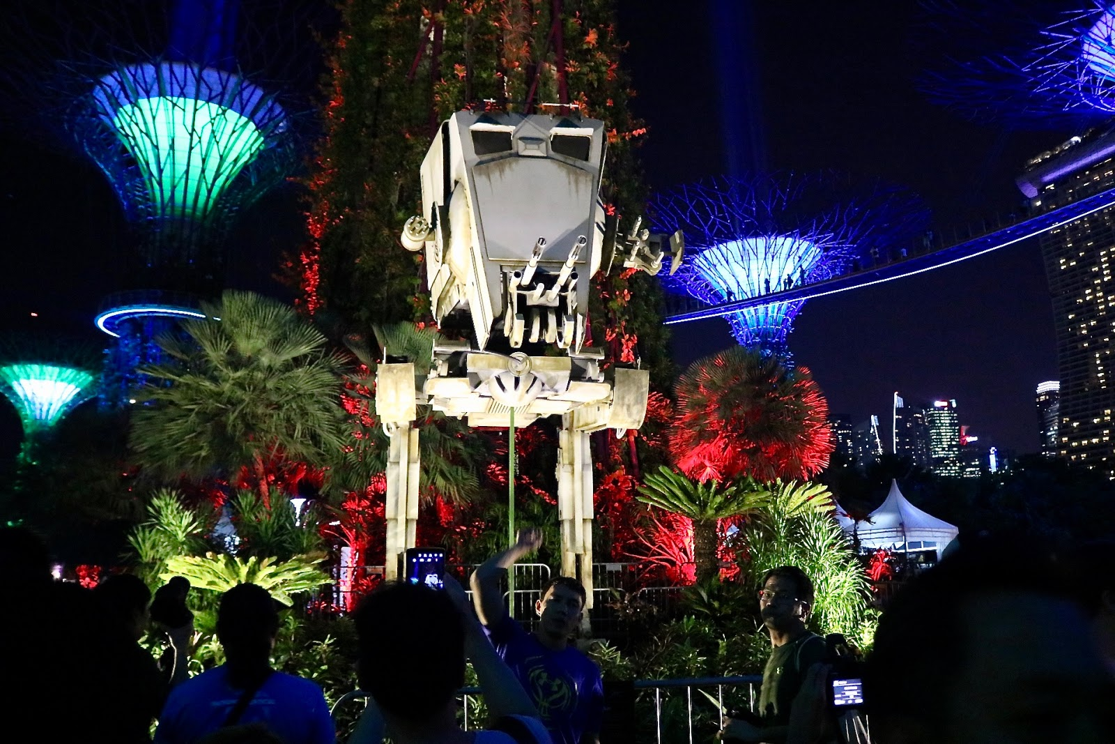 Star Wars Day (May 4th) at Gardens by The Bay, Singapore