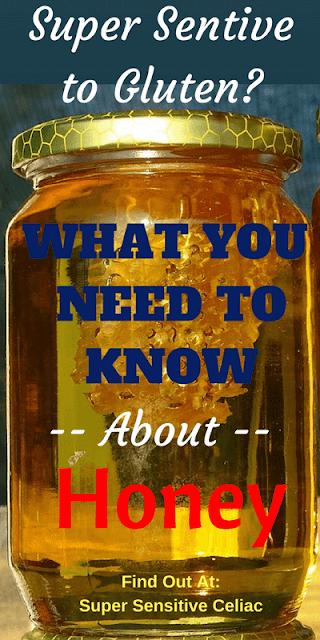 Pinterest Image: Large Honey Jar