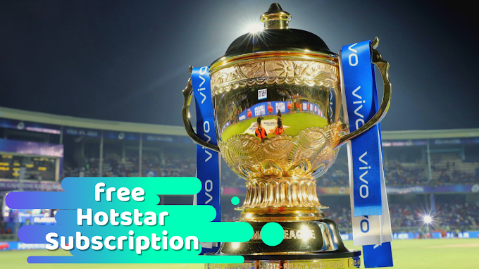 Watch IPL 2021 Free Online How To Get Free Hotstar Subscription