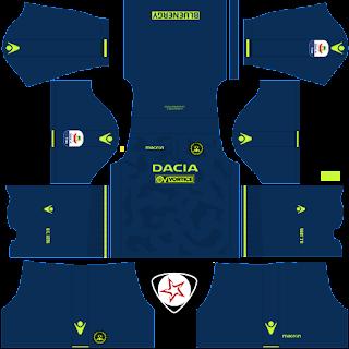 Udinese Calcio 2018 - 2019 Third Kit