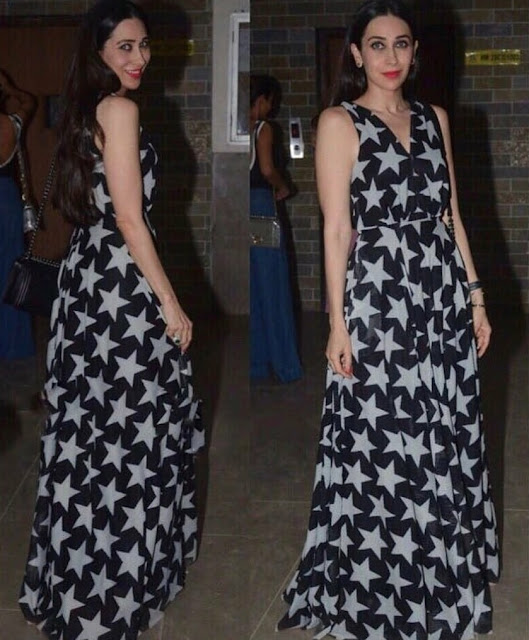 Karisma Kapoor in Two Looks