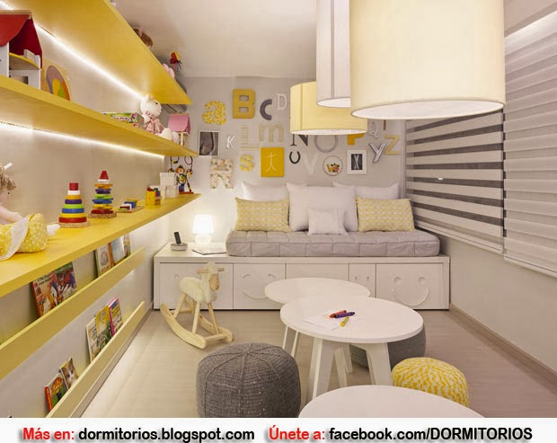 Ideas para decorar tu cuarto - Ideas para decorar dormitorio infantil ...