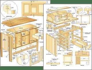 plans de bureau en bois