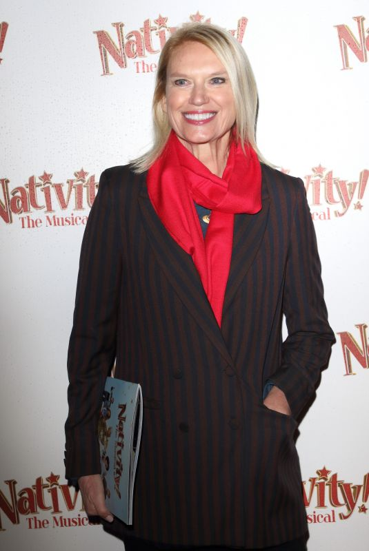 Anneka Rice Clicks at Nativity! The Musical Press Night Performance in London 12 Dec-2019